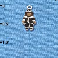C2115 ctlf - Pilgrim Boy - Silver Plated Charm (6 per package)