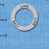 C3197 tlf - Live - Affirmation Message Ring (6 per package)