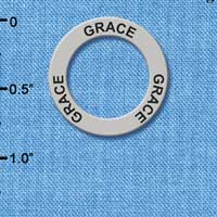 C3199 tlf - Grace - Affirmation Message Ring (6 per package)