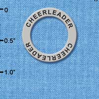 C3219 tlf - Cheerleader - Affirmation Message Ring (6 per package)