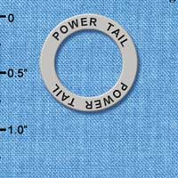 C3222 tlf - Power Tail - Affirmation Message Ring (6 per package)