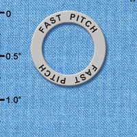 C3224 tlf - Fast Pitch - Affirmation Message Ring (6 per package)