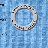 C3225 tlf - Fetch What? - Affirmation Message Ring (6 per package)