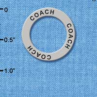 C3228 tlf - Coach - Affirmation Message Ring (6 per package)