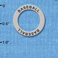 C3239 tlf - Baseball - Affirmation Message Ring (6 per package)