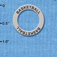 C3246 tlf - Basketball - Affirmation Message Ring (6 per package)