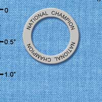 C3980 tlf - National Champion - Affirmation Message Ring (6 per package)