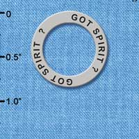 C3984 tlf - Got Spirit? - Affirmation Message Ring (6 per package)