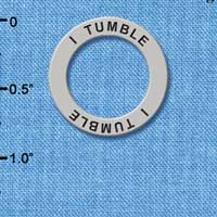 C3990 tlf - I Tumble - Affirmation Message Ring (6 per package)
