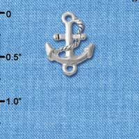 C5714 tlf - Anchor - Silver Plated Connector (6 per package)