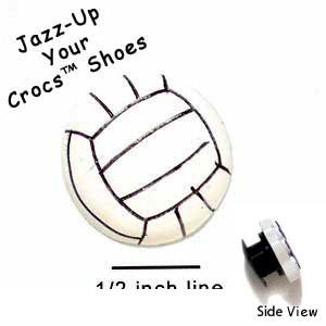 CROC-0870 ctlf - Medium Volleyball