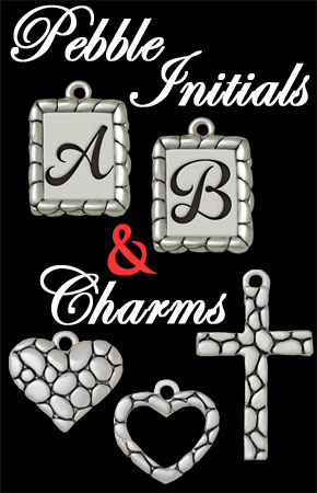 Pebble Initials & Charms