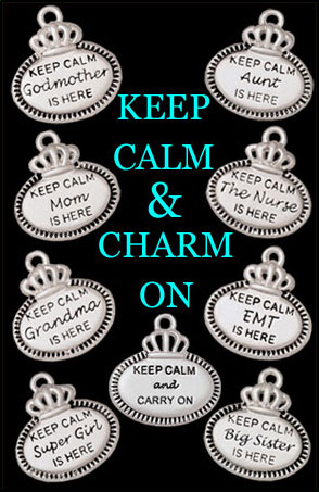 Keep Calm Charms