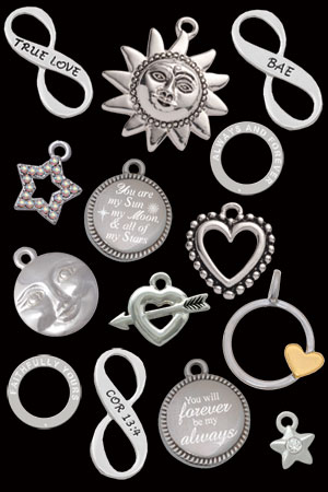 wholesale valentine charms and beads