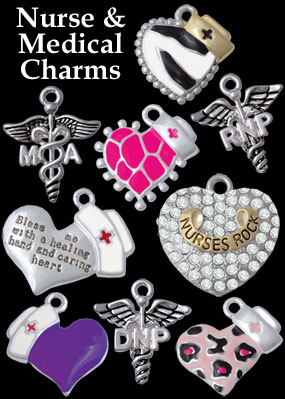 wholesale nurse charms