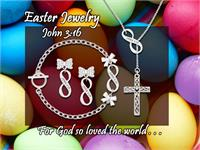 Bible Verse Jewelry Ideas John 3:16