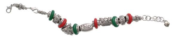 Christmas Peace Bracelet