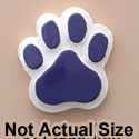 1820 tlf - Medium Purple Paw - Resin Decoration (12 per package)
