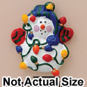 4229 ctlf - Snowman Lights - Resin Decoration (12 per package)