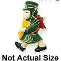 9204 ctlf - Large Irish Bagpiper - Resin Decoration (12 per package)