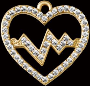 SP Heart Charm