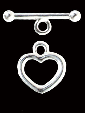 Heart Clasps