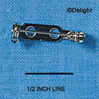 G1219 tlf - Bar Pin Nickel Plated 3/4
