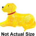 3295 tlf - Dog Yellow Lab Laying Medium - Resin Decoration (12 per package)